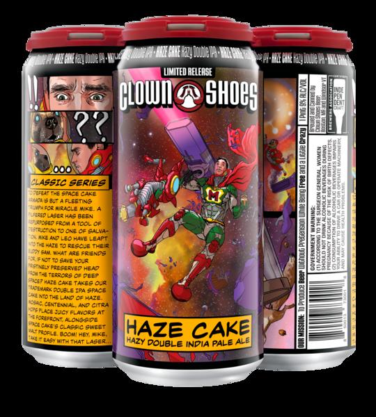 Haze Cake 16 oz 4-pack can