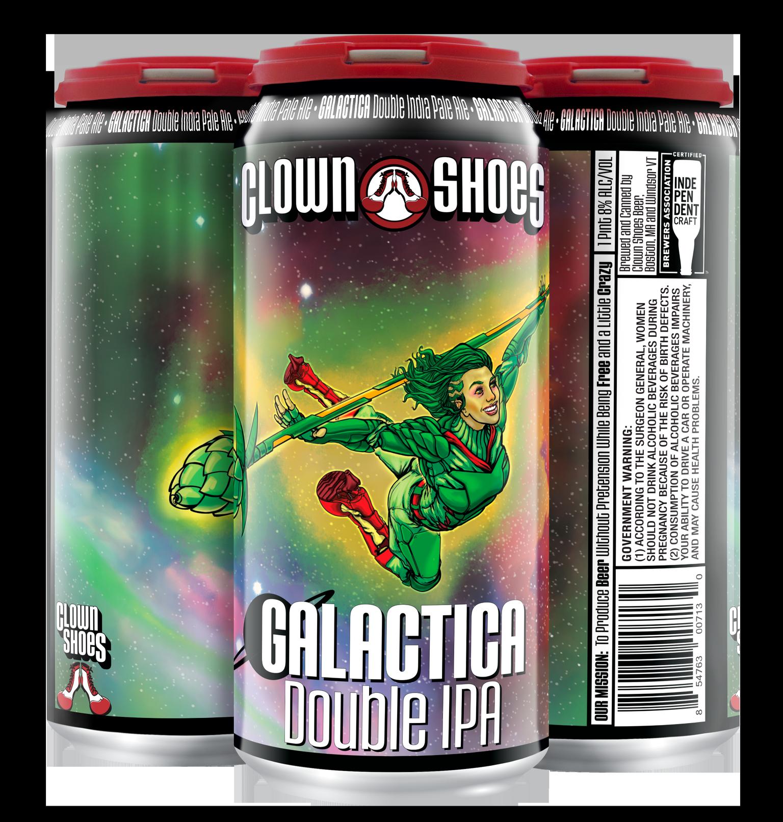 Galactica 4-pack
