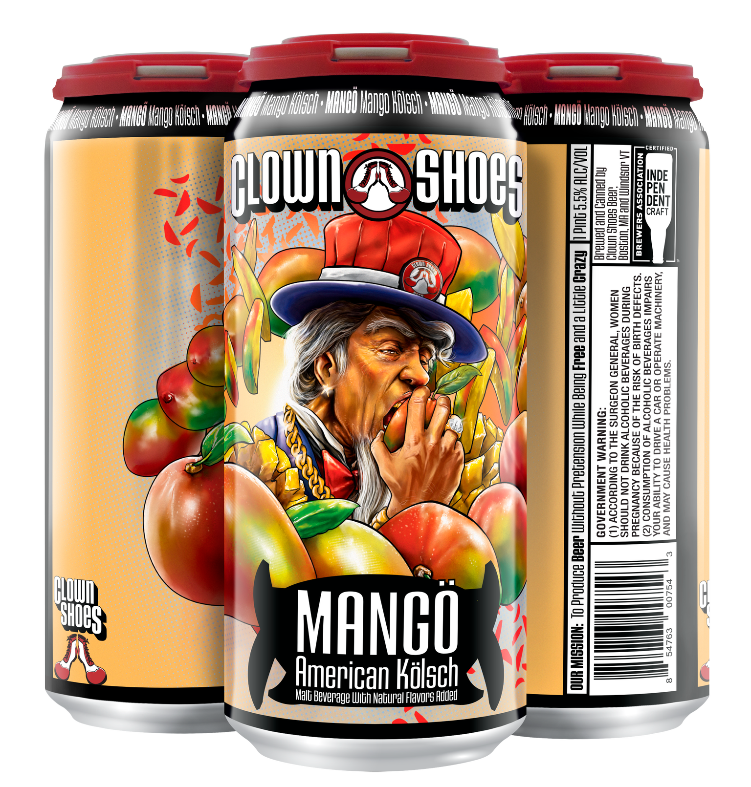 Mango Farm 4-pack 16 oz can