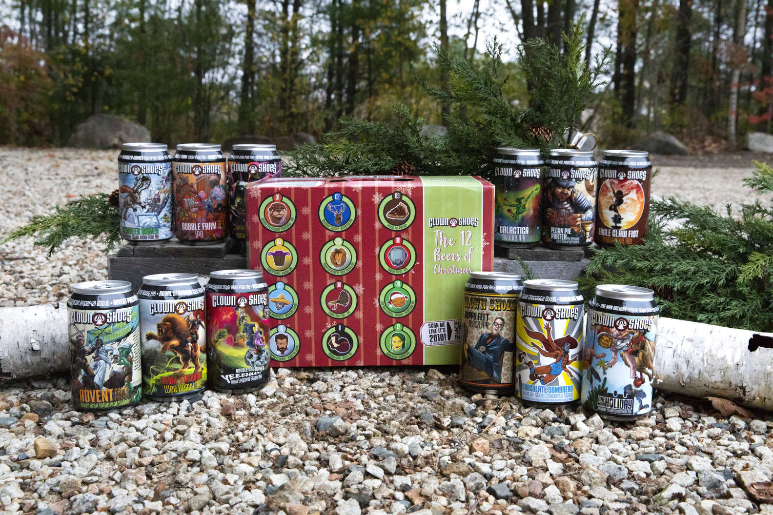 Clown Shoes Just Unleashed Its First-Ever Mixed Pack & It's Got 12 Different Beers